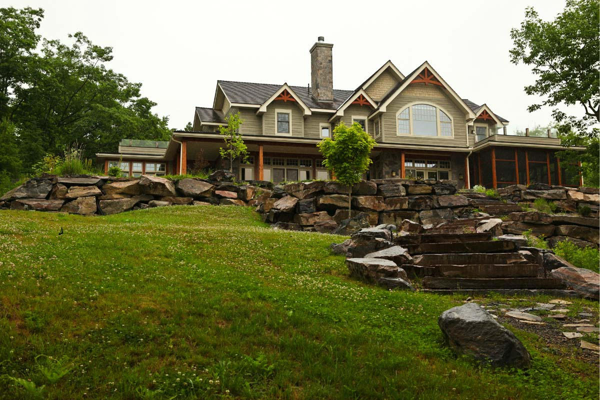 Cottages muskoka lakes construction ontario cottage for Cottage designs ontario